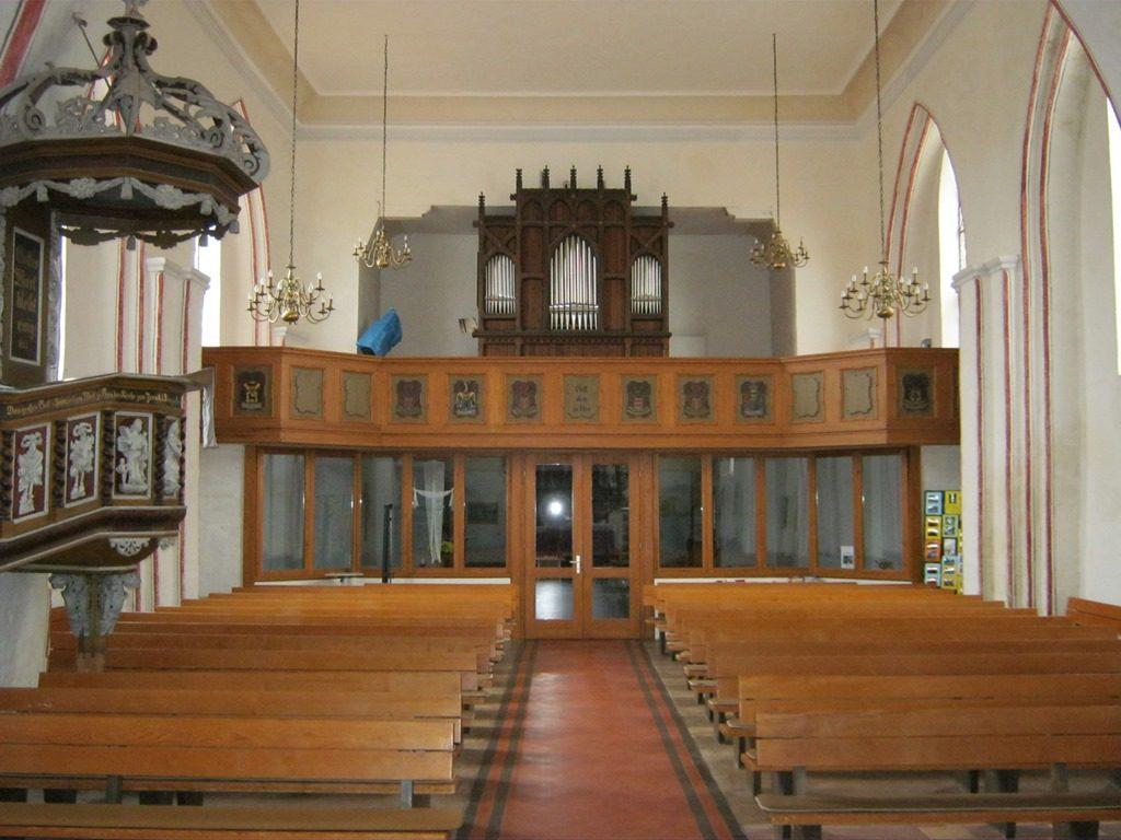 Kirche Krakow nach Westen